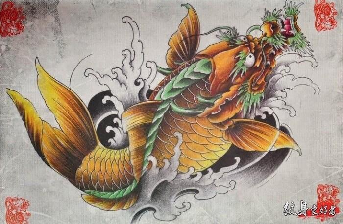Truyền thuyết cá chép ngậm ngọc vượt Vũ Môn để hóa rồng